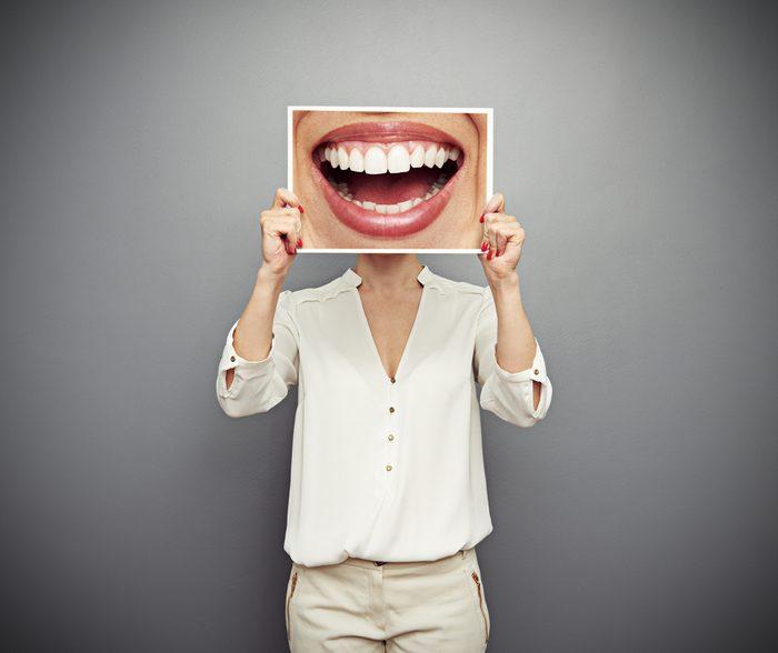 Lorsque vous transpirez, essayez de sourire.