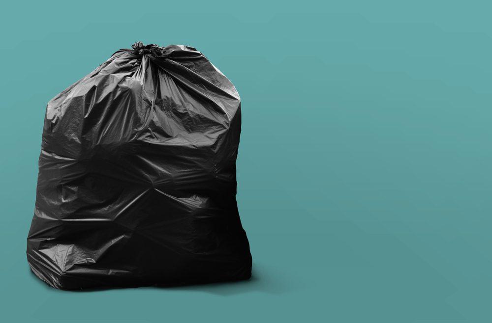 Soyez organisé et ramassez les déchets au fur et à mesure.