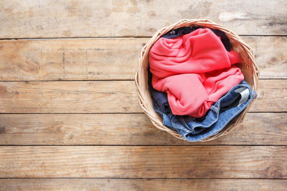 Truc en matière d'organisation: lavez votre linge sale.