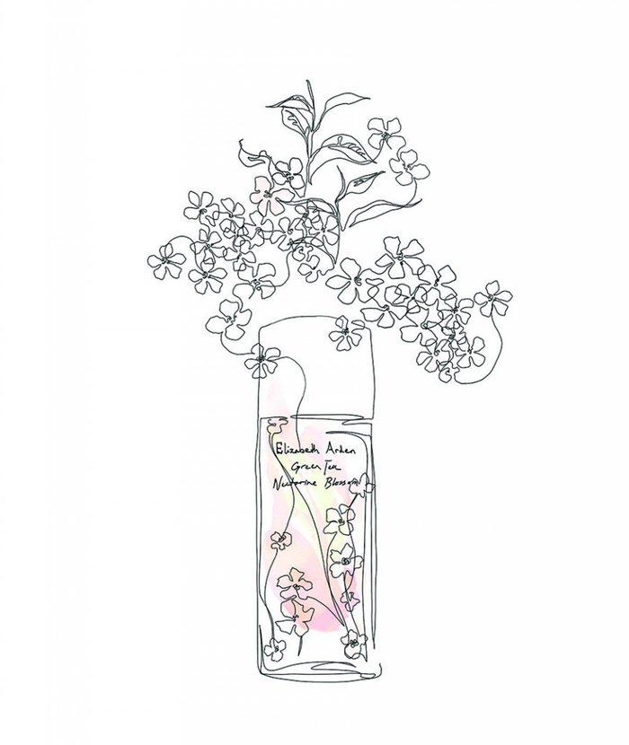 Parfums aux arômes de jardin et de nectariniers.