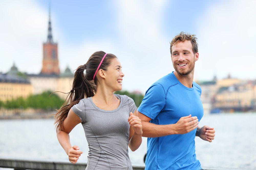 Pour augmenter sa motivation à l'entraînement, trouvez un partenaire