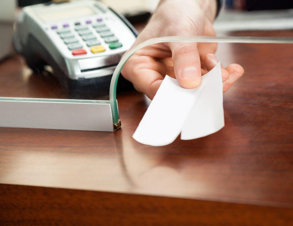reçu-carte-credit