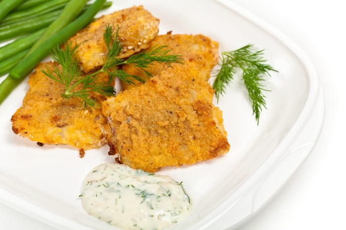 Un poisson pané santé prêt en moins de 30 minutes