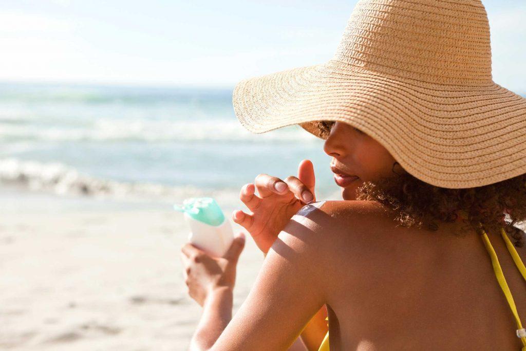 Truc anti-cancer pour prévenir le cancer: l'écran solaire.