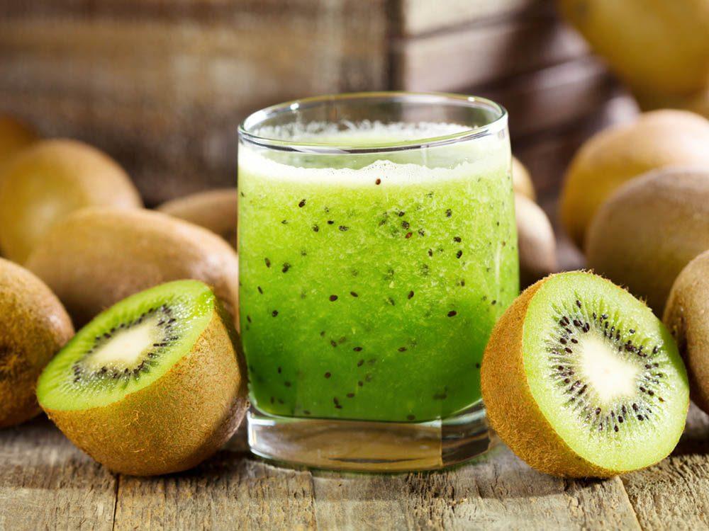 Aliments brûle-graisses: le kiwi.