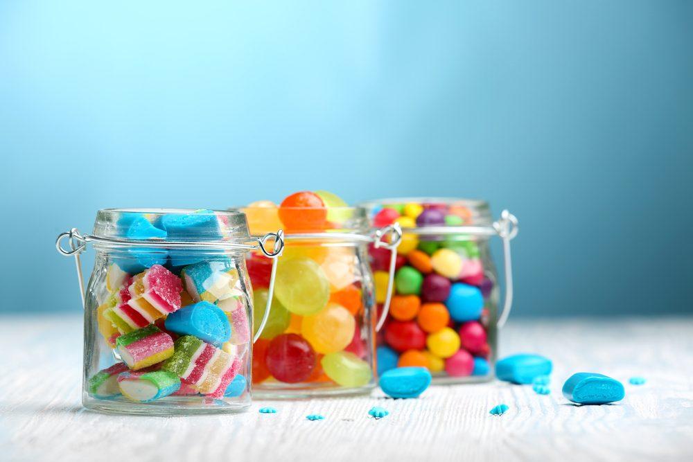 Les bonbons peuvent être source de caries dentaires