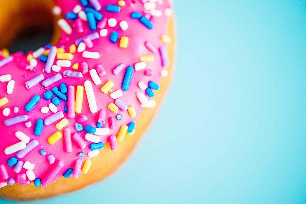La fringale peut se manifester par une rage de sucre.