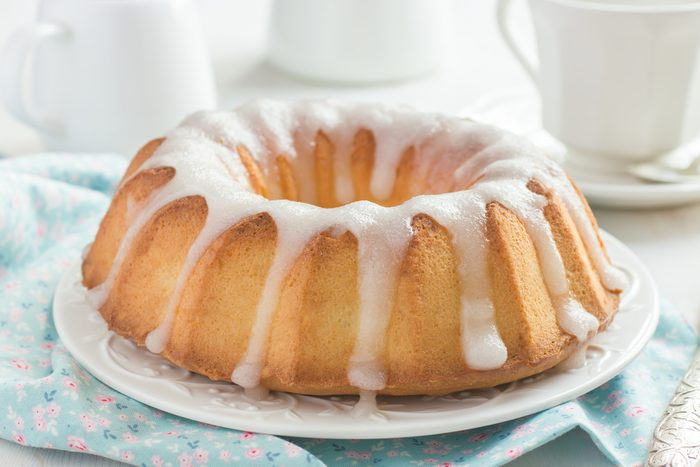 Un gâteau au citron