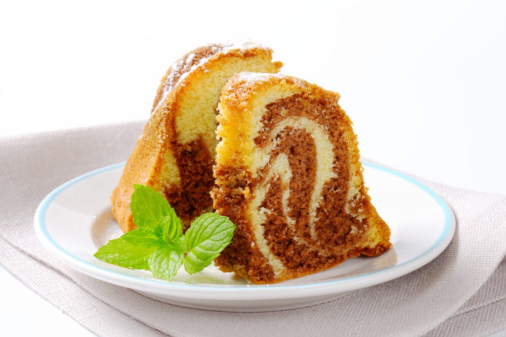 Un gâteau jonquilles
