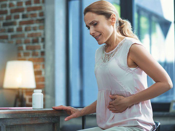 Le gluten peut causer des maux de ventre aux personnes intolérantes.