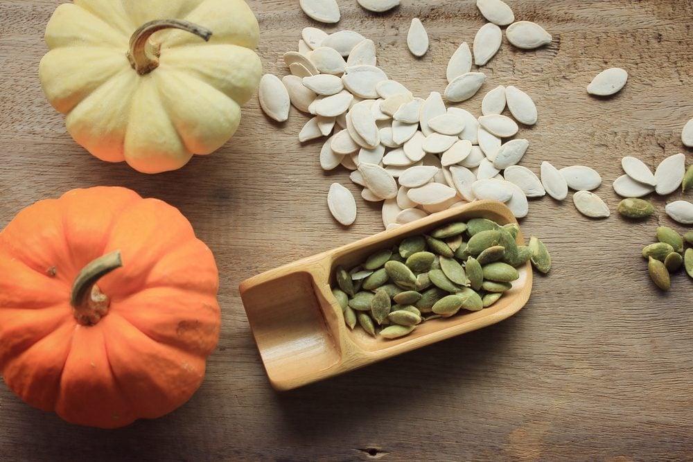 Graines de citrouille: les bienfaits et vertus santé.