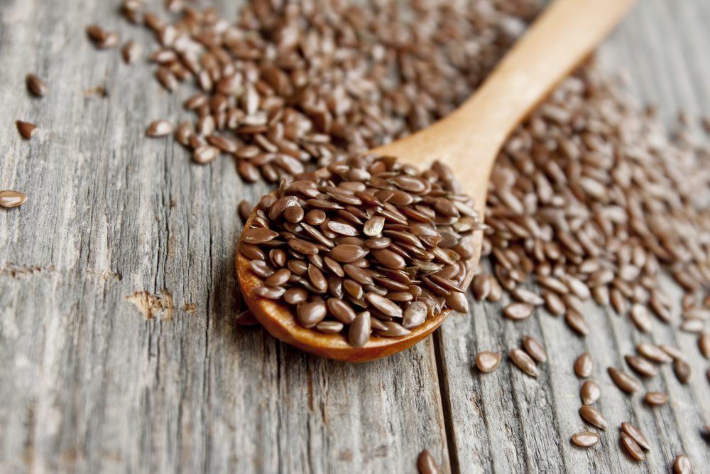 Les graines de lin parmi les meilleurs aliments santé.