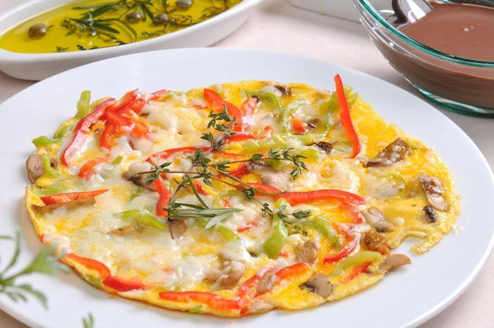Une recette d'omelette à l'européenne.