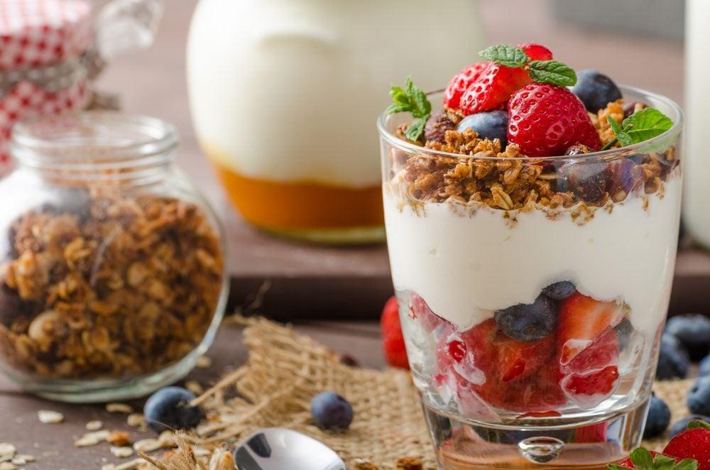 Une recette de parfait aux petits fruits