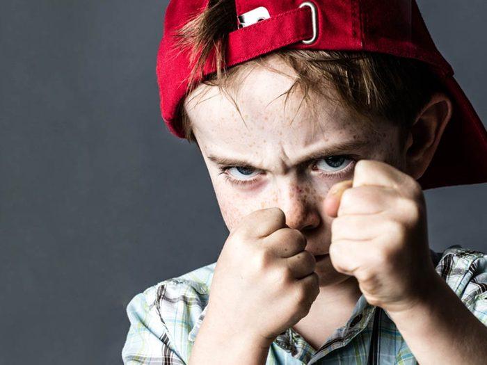 Les psychopathes ont souvent eu des problèmes de personnalité durant leur enfance.