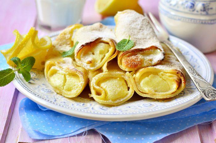 La meilleure recette de crêpes au limoncello.