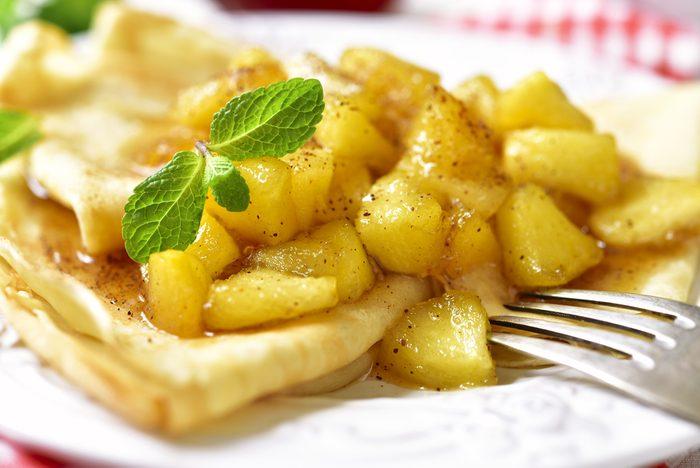 Notre meilleure recette de crêpes aux pommes.