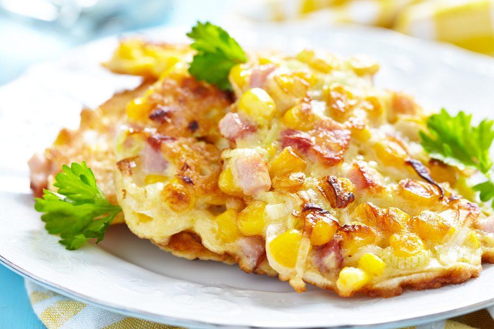 Une recette de pancakes épicés au maïs