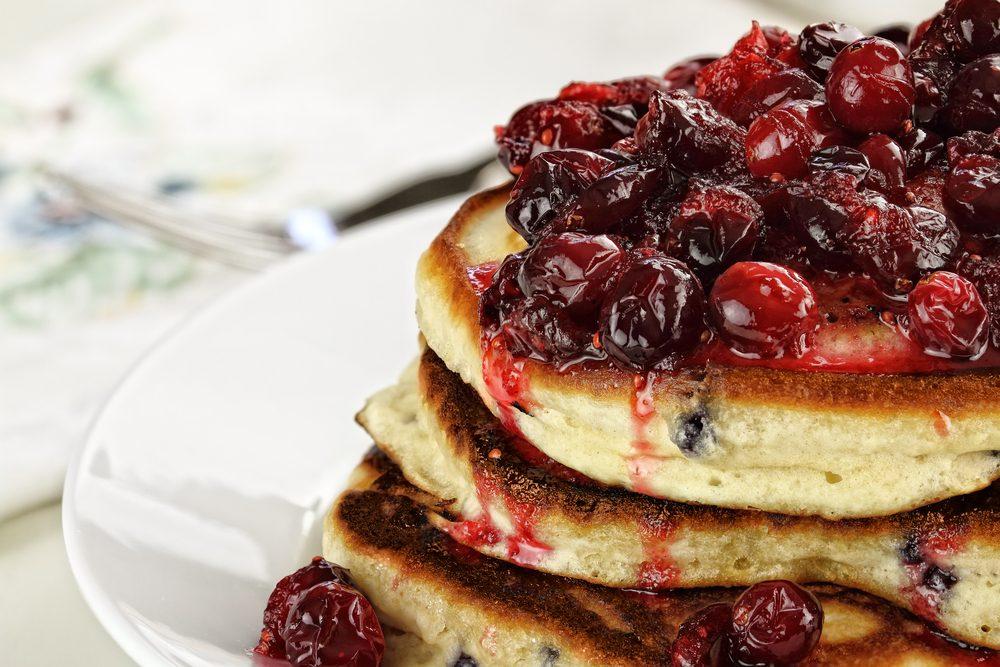La meilleure recette de pancakes.
