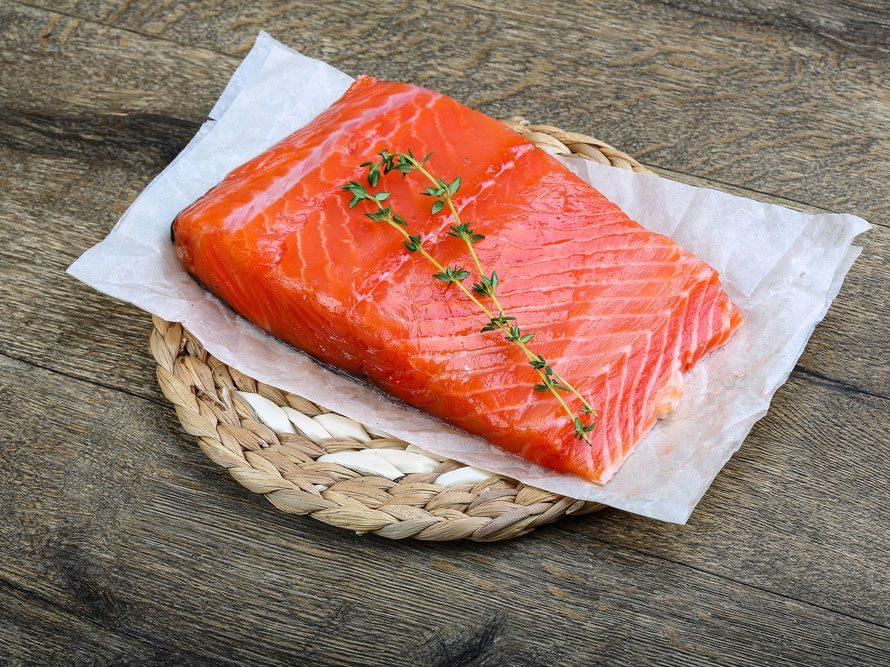 Le saumon parmi les meilleurs aliments santé.