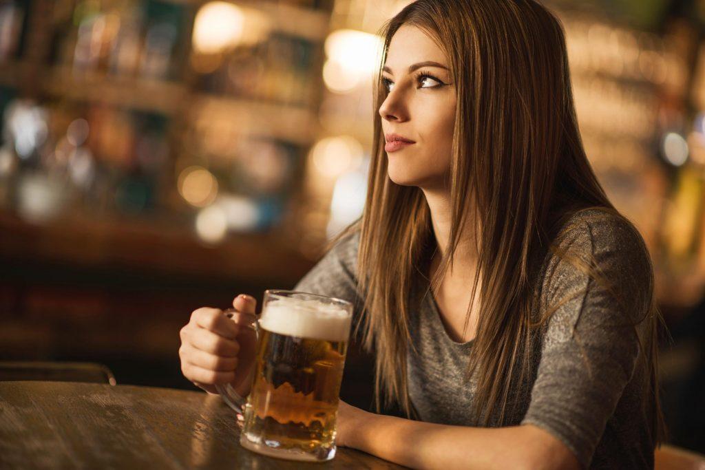 Boire pour le réconfort peut être un signe avant coureur de dépression.