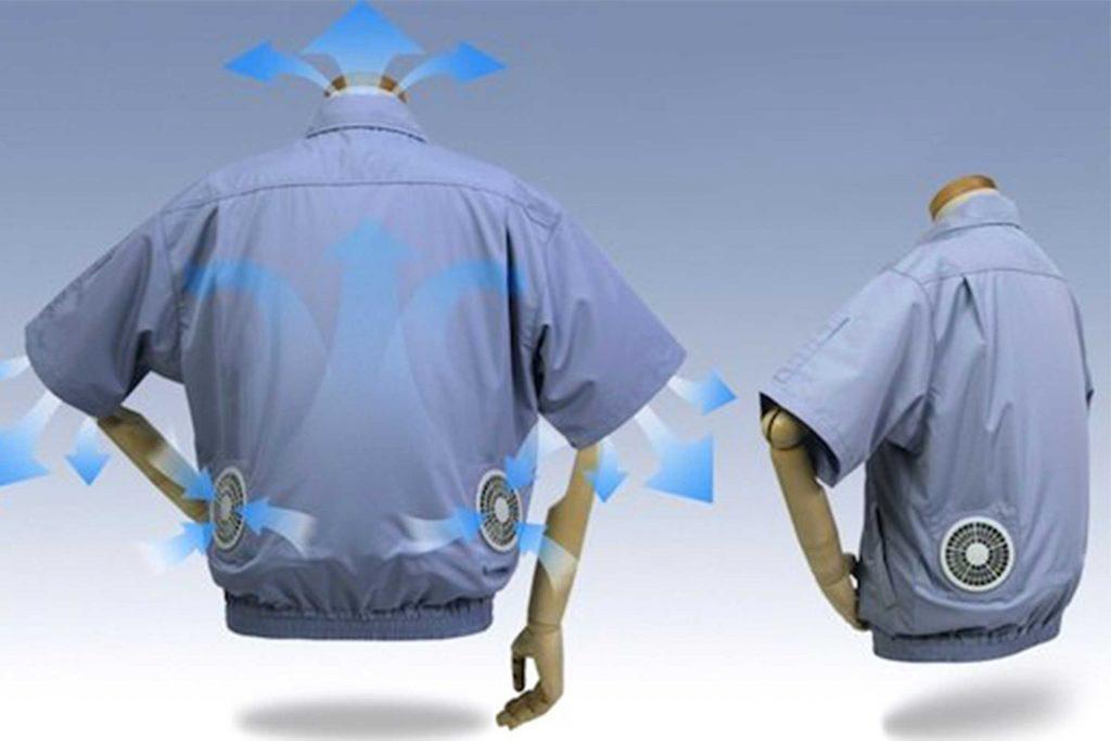 La chemise climatisée est parfaite pour combattre la transpiration.