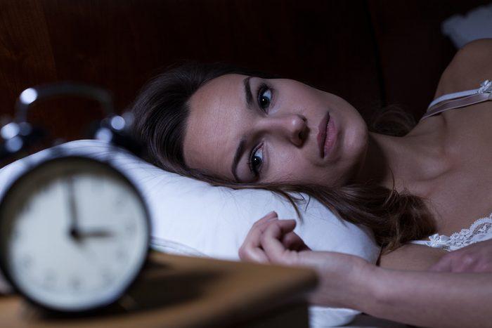Niveau de stress trop élevé: des problèmes de sommeil peuvent être liés au fait d'être plus stressé que la normale.