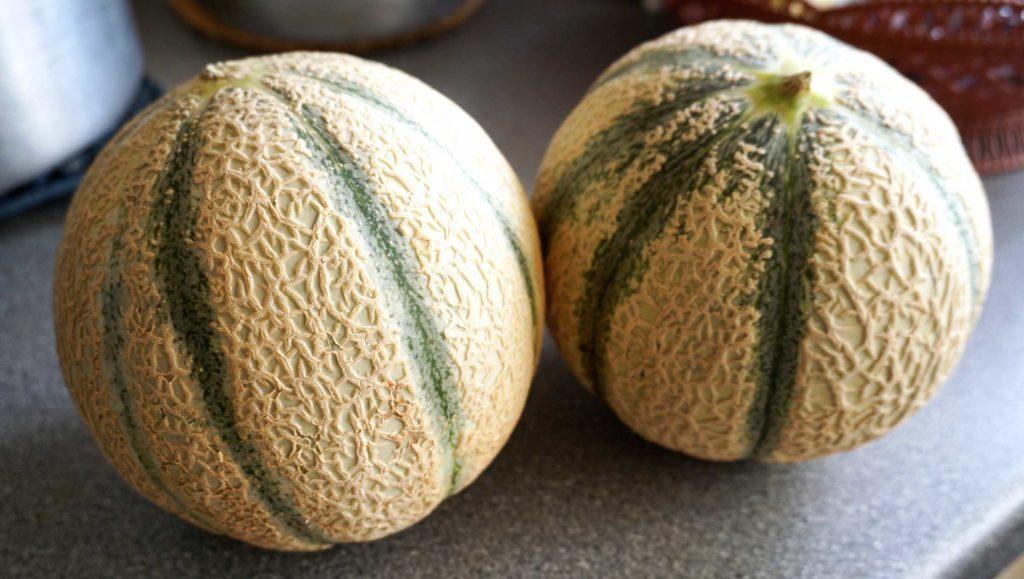 Le melon, un aliment beauté efficace.