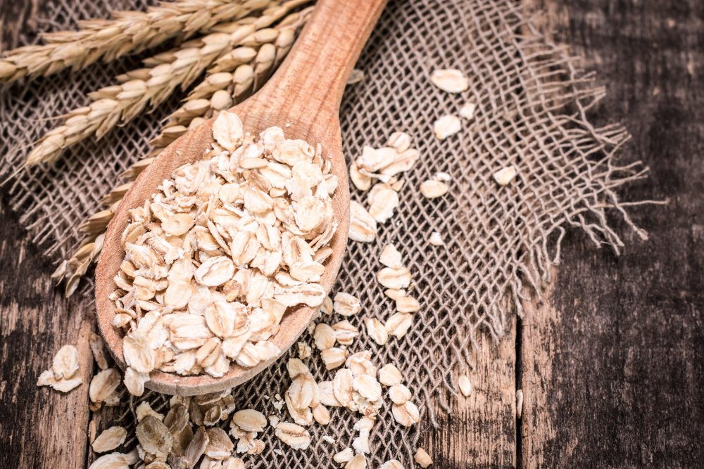 Aliments pour maigrir et favorisant la perte de poids: son d'avoine.