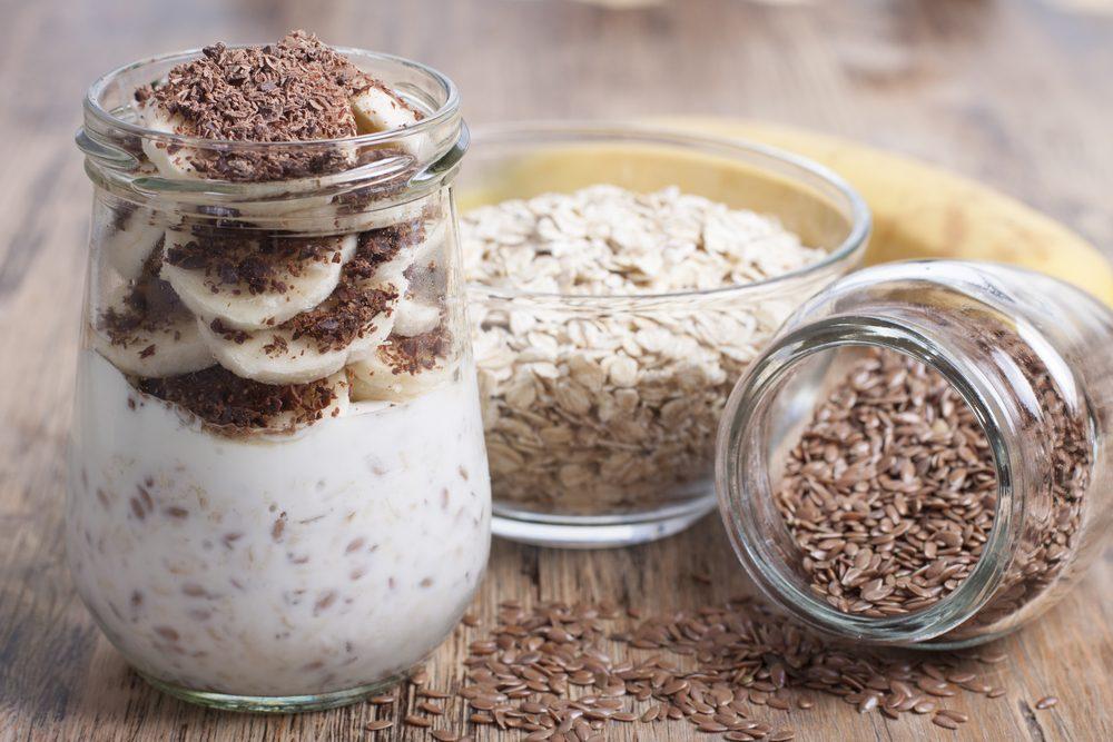 Aliments pour maigrir et favorisant la perte de poids: graines de lin.