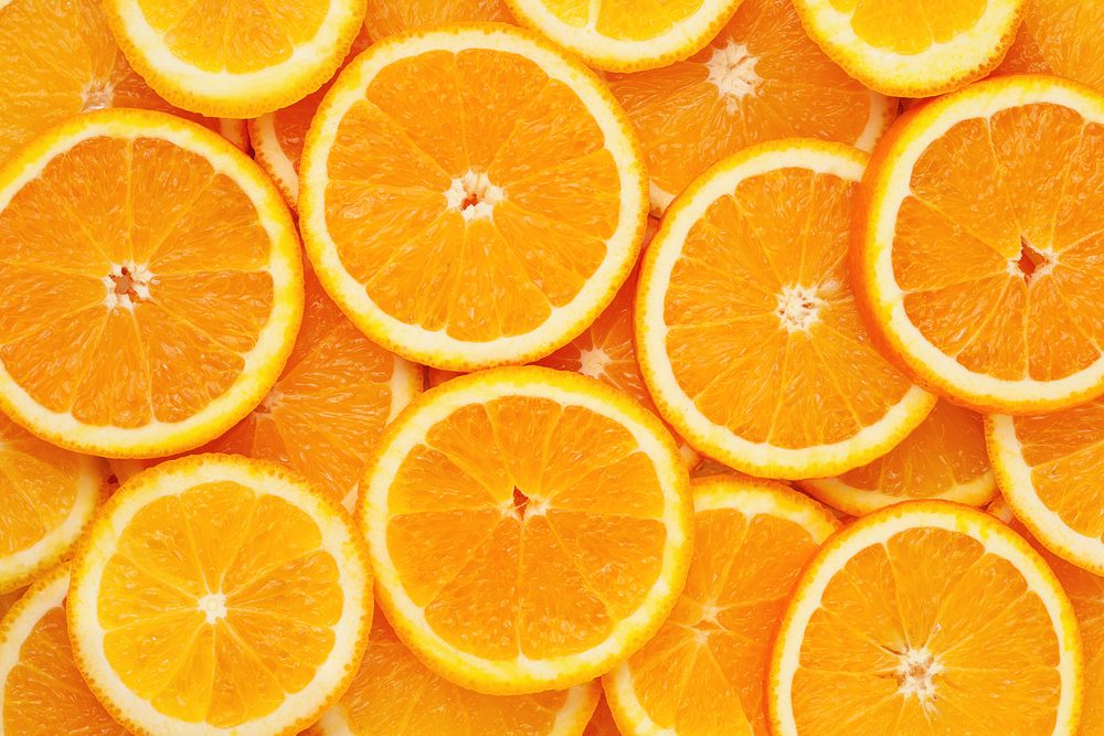 Aliments pour maigrir et favorisant la perte de poids: l'orange.
