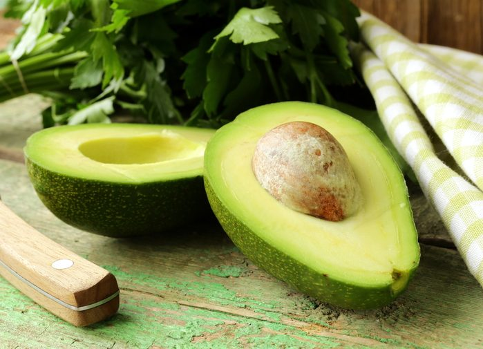 Aliments pour maigrir et favorisant la perte de poids: avocat.