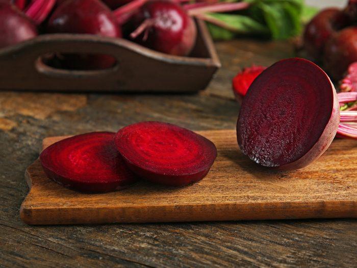Aliment beauté : betterave pour un fard à joues maison