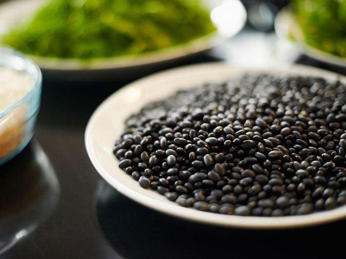 Les fibres solubles sont importantes pour le cholestérol.