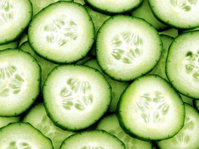 Concombre: bienfaits et vertus santé.