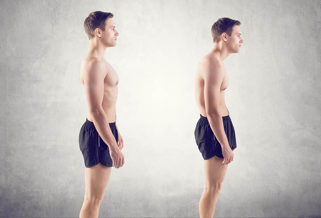 Pour maigrir avant les fêtes, améliorer votre posture.