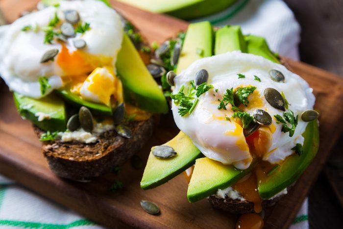 Aliments pour maigrir et favorisant la perte de poids: les oeufs.