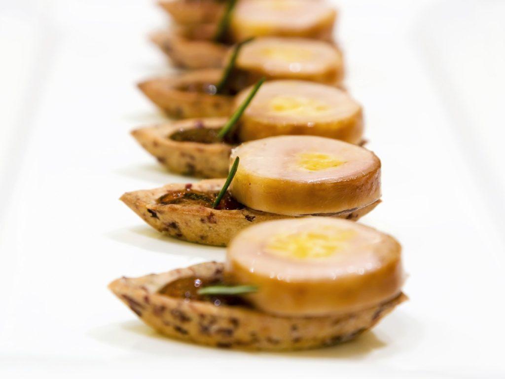 Recette de foie gras pour Noël.