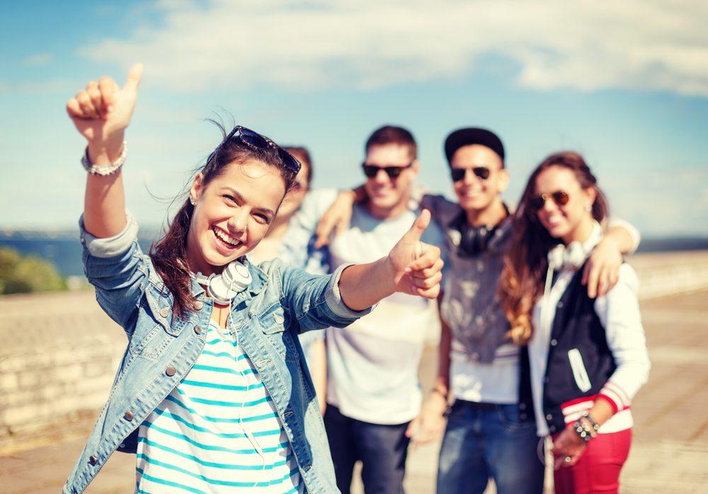 Optimisme, entourez-vous de gens que vous aimez