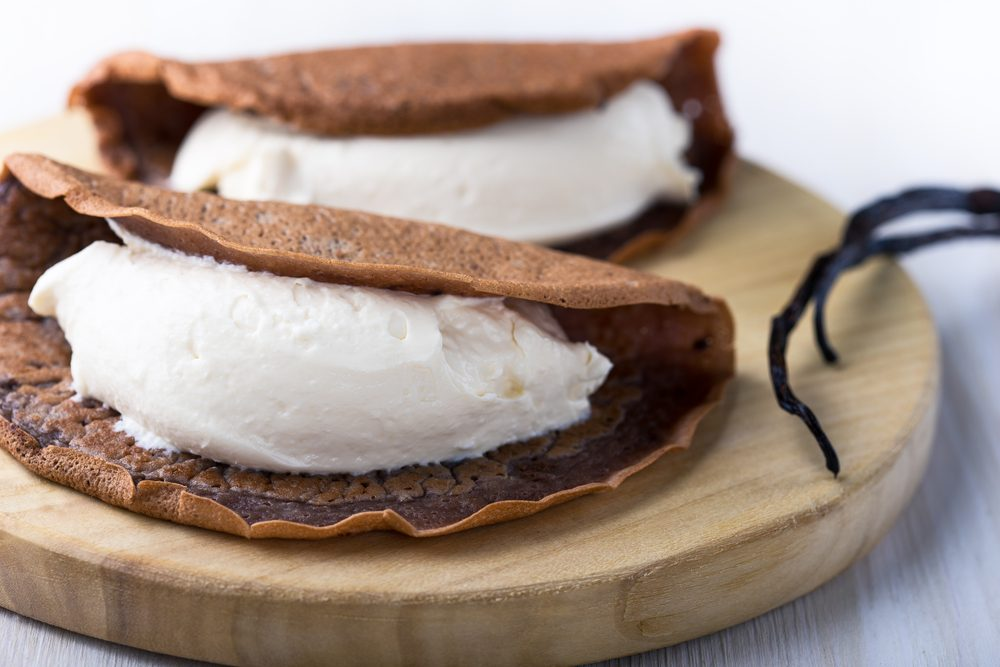 Une recette décadente de crêpes farcies au chocolat