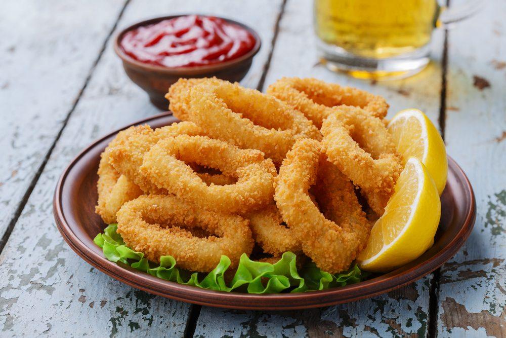 Une recette décadente de calamars frits
