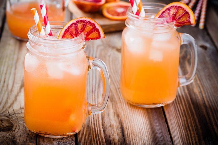 Une recette de cocktail décadent