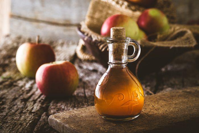 Aliments pour maigrir et favorisant la perte de poids: le vinaigre.