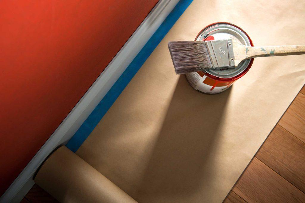 Éviter les couleurs criardes pour la peinture de vos murs.