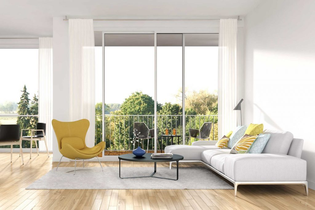 Attirez l'attention sur les points forts comme les fenêtres afin de laisser entrer la lumière dans les pièces.