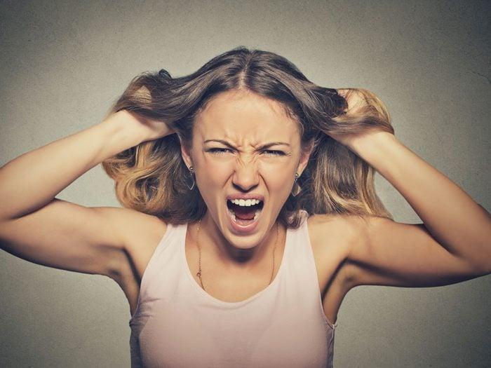 L'irritabilité peut être une conséquence d'un manque de sommeil.