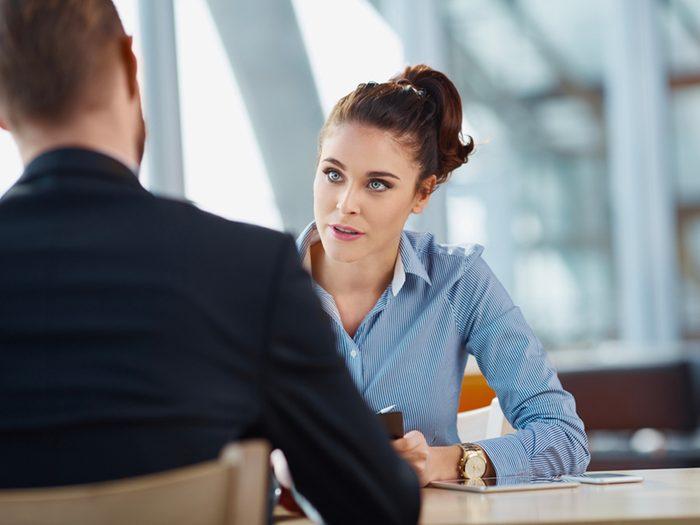 """Utilisez souvent le mot """"expérience"""" lors d'un entretien d'embauche."""