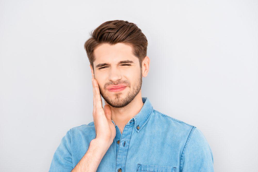santé langue marron