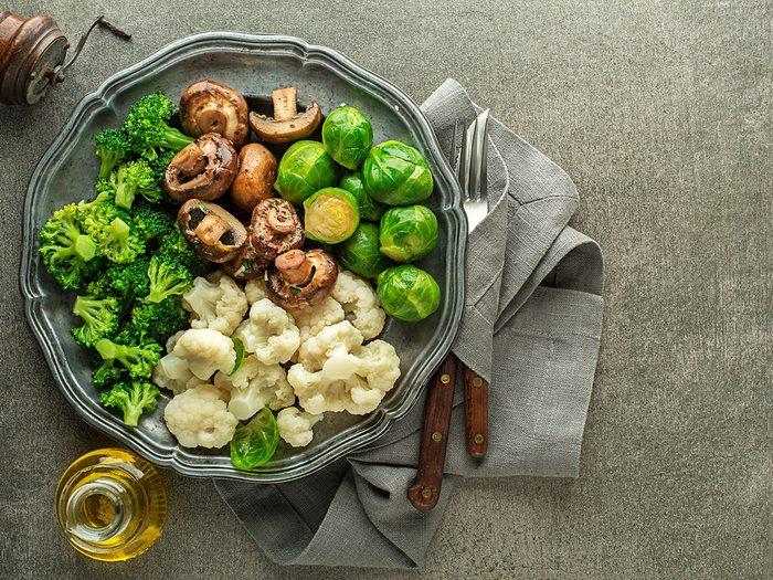 Les aliments à haute teneur en polyol provoquent des maux de ventre er des gaz.
