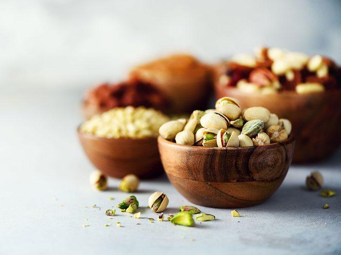 Les aliments à haute teneur en galacto-oligosaccharide provoquent des maux de ventre er des gaz.
